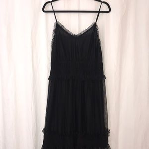 H&M Tulle Maxi Dress